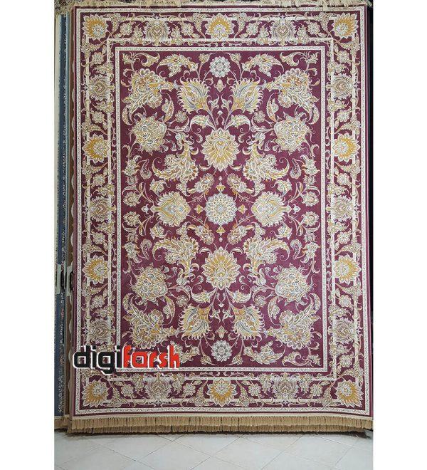 فرش نیاوران 1200 شانه یاسی کد 3656