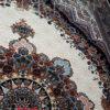 فرش ماشینی طرح بهشت کرم کد 619