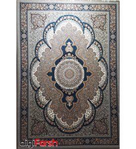 فرش ماشینی کاشان طرح ارشیدا بژ 700 شانه نیاوران تراکم 2550 کد 700585