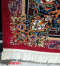 فرش ماشینی کاشان 700 شانه نیاوران یاسی رنگ صددرصد اکرلیک تراکم 2550 کد 618