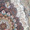 فرش ماشینی کاشان 700 شانه نیاوران کرم صددرصد اکرلیک تراکم 2550 کد 700564