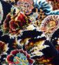 فرش ماشینی کاشان 700 شانه نیاوران طرح بهار روناسی رنگ صددرصد اکرلیک تراکم 2550 کد 700596