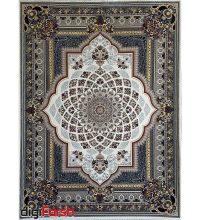 فرش ماشینی کاشان 1000 شانه ستاره فروزان طرح لوکس زمینه کرم صد در صد اکریلیک تراکم 3000 کد 471052