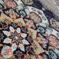 فرش ۷۰۰ شانه کاشان نیاوران زمینه فیلی کد 700617