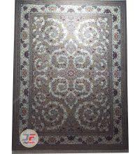 فرش نیاوران طرح افشان ۷۰۰ شانه زمینه فیلی کد ۷۰۰۶۴۲