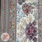 فرش نیاوران ۷۰۰ شانه طرح افشان زمینه فیلی کد 700642