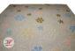 فرش ماشینی لایت طرح ترک زمینه آبی کد 6170120