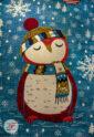 فرش گبه ماشینی کاشان طرح کریسمس کد 61400087