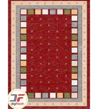 فرش ۵۰۰ شانه وینتیج دیجی فرش زمینه روناسی کد 53814