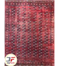 فرش ماشینی طرح وینتیج کاشان زمینه روناسی کد ۵۳۸۲۹