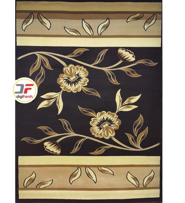 فرش سه بعدی بزرگمهر طرح گل کد 52401222