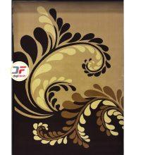 فرش سه بعدی کاشان طرح گل زمینه کرم کد 52401225