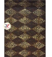 فرش سه بعدی بزرگمهر طرح پوست پلنگی کد 1229
