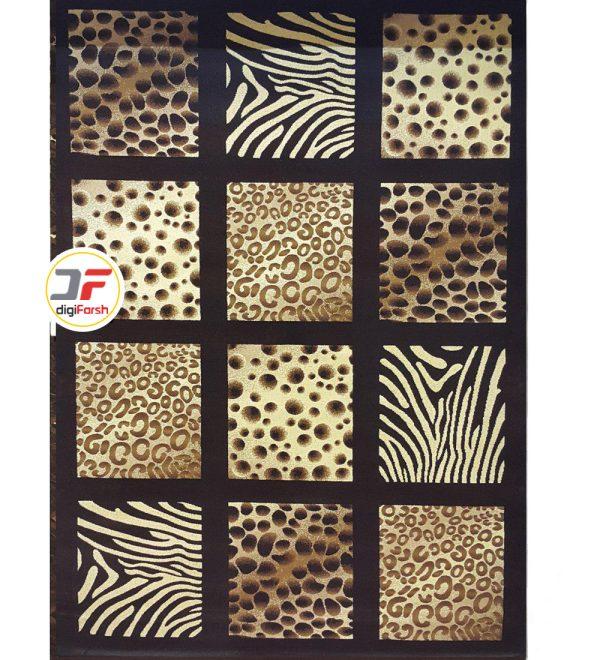 فرش بزرگمهر سه بعدی طرح خشتی کد 52401230
