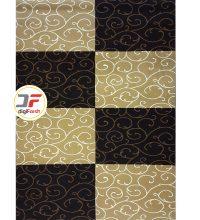 فرش ماشینی سه بعدی کاشان طرح قابی کد 52401613