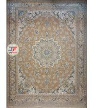 فرش بزرگمهر گل برجسته زمینه بژ کد 521011601