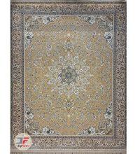 فرش گل برجسته بزرگمهر زمینه بژ کد 521011606