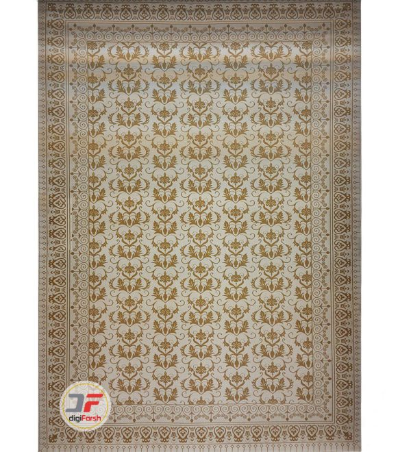 فرش بزرگمهر طرح افشان گل برجسته کد 521011613