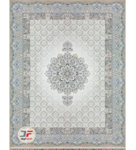 فرش بزرگمهر طرح هالیدی زمینه بژ کد 521011624