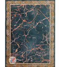 فرش مدرن و فانتزی بزرگمهر کاشان زمینه بژ کد 11628