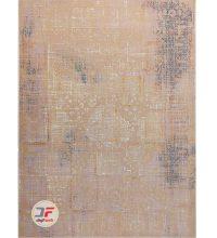 فرش ماشینی بزرگمهر طرح وینتیج زمینه بژ کد ۱۱۶۳۰