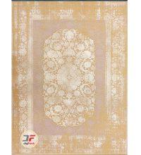 فرش وینتیج بزرگمهر گل برجسته زمینه بژ کد 11638