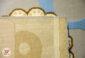فرش کودک طرح فیل و بچه زمینه آبی کد 6141301