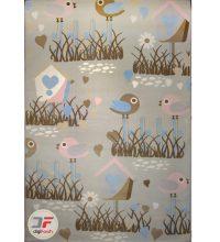 فرش ماشینی اتاق کودک طرح اردک کد ۶۱۴۱۳۰۹
