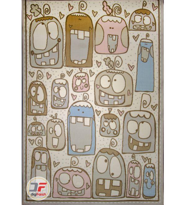 فرش کودک پسرانه طرح استیکر تلگرام کد 6141313