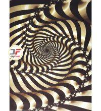 فرش ماشینی اتاق پذیرایی - طرح سه بعدی کد 1379