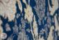 فرش گل برجسته 1200 شانه افشان زمینه سرمه ای کد 221215