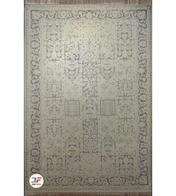فرش ماشینی وینتیج (کهنه نما) زمینه کرم کد 402