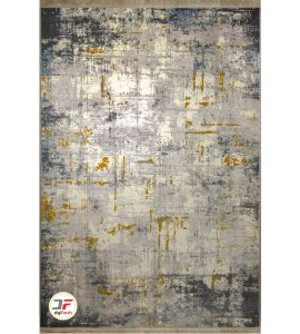 فرش ماشینی کاشان طرح وینتیج سبلان کد 6142414