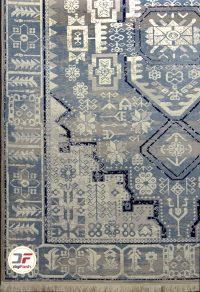 فرش کهنه نمای سبلان کاشان کد 6142418