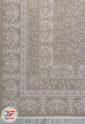 فرش ماشینی ترک طرح رزیتا زمینه کرم کد 224109