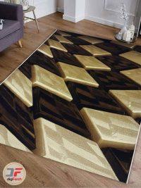 دکور فرش مدرن و فانتزی طرح سه بعدی کد 1373