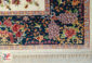 فرش ماشینی سنتی جدید طرح بهار زمینه کرم کد 2270808