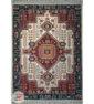 فرش کاشان طرح سنتی گلناز زمینه کرم کد 2270812