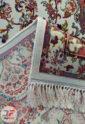 فرش سنتی ماشینی کاشان طرح مهیار زمینه کرم کد 2270802
