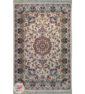 فرش سنتی ماشینی ایرانی طرح آروین زمینه کرم کد 2270800