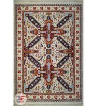 فرش ماشینی سنتی طرح گیسو زمینه کرم کد ۲۲۷۰۸۰۹