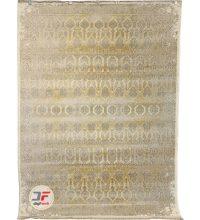 فرش کهنه نمای کاشان ۷۰۰ شانه زمینه کرم کد ۳۱۳T13