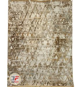Kashan Carpet - 700 shoulder Vintage design Cream Background DC 1
