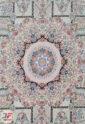 فرش ماشینی کاشان طرح خانه رویایی | 1200 شانه گل برجسته فیلی کد 221256