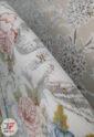 فرش 1200 شانه کاشان طرح رایحه زمینه بژ تراکم 3600 کد 221276