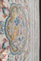 فرش 1200 شانه طرح باغ فین کاشان زمینه بژ کد 221278
