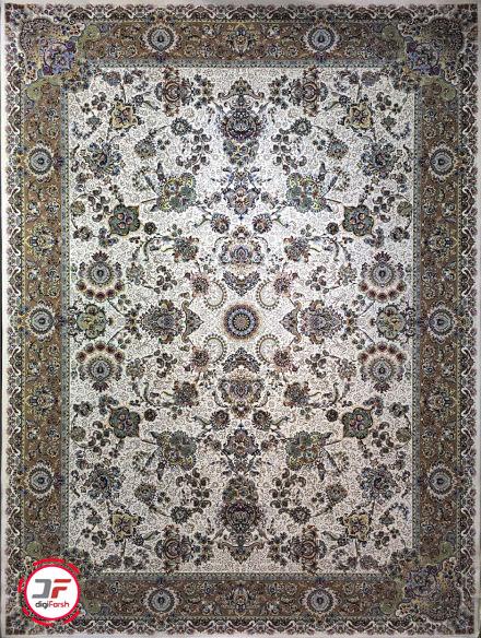 فرش عظیم زاده طرح افشان