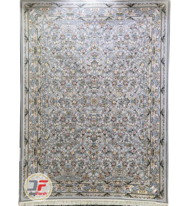فرش پامچال کاشان طرح افشان فیلی | فرش 1200 شانه گل برجسته کد 231255