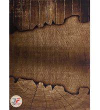 رش سه بعدی بزرگمهر طرح آشپزخانه زمینه قهوه ای تراکم 1400 کد 16036