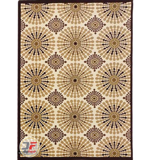 فرش سه بعدی اتاق خواب مدرن ترک بزرگمهر کاشان کد 16047